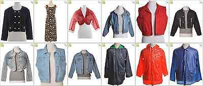 JOB LOT OF 22 VINTAGE MIXED JACKETS - Mix of Era's, styles and sizes (20951)