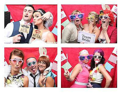 Photo Booth Hire Yorkshire, UNLIMITED PRINTS, HUGE SELECTION OF PROPS & DISC!