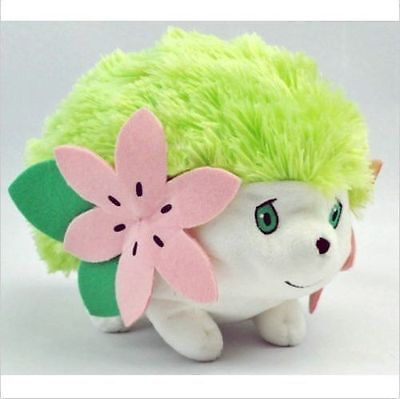 "Hot Sale 6"" Pokemon Rare Shaymin Soft Plush Stuffed Toy Doll kids gift"