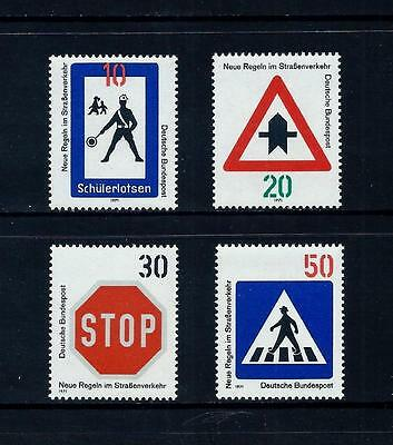WEST GERMANY _ 1971 'ROAD TRAFFIC' SET of 4 _ mnh ____(461)