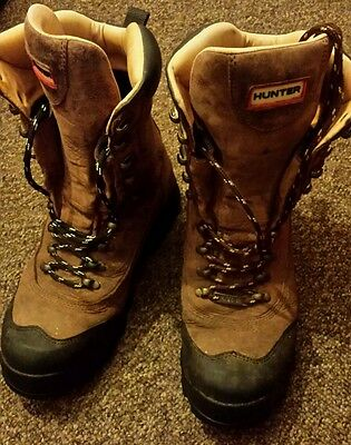 Hunter Screel High boots Size 8 . 42.