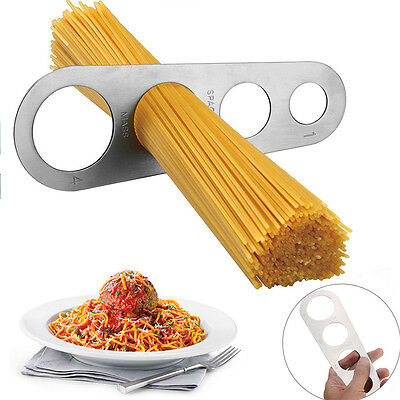 Stainless Steel Spaghetti Measurer Pasta Noodle Measure Cook Easy to Use New