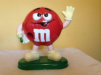 M&Ms Large Red Sweet Dispenser - Early 1990s