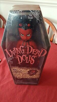 "LUST Series 7 LIVING DEAD DOLL 10"" Factory Sealed"