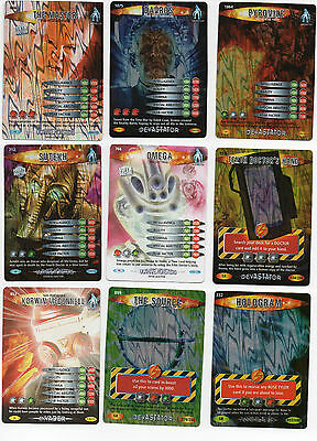 Choose Doctor Who Battles in Time SUPER RARE CARDS