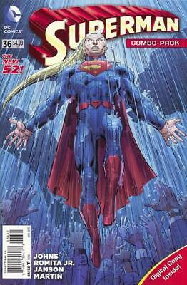 Superman #36 (Vol 3) New 52 Combo Pack (Polybagged)