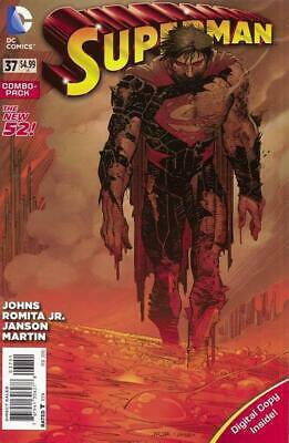 Superman #37 (Vol 3) New 52 Combo Pack (Polybagged)