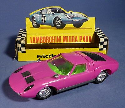 Alter Lamborghini Miura P400 Friktion 343 OVP MIB vintage model car boxed B162