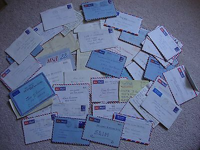 BULK LOT OF LETTERS FROM THE 1970s TO SAILOR ARK ROYAL