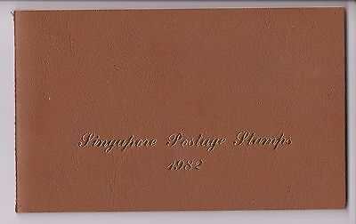 Singapore Postage Stamps 1982 Full Year Book Mnh 7 Complete Stamp Sets Mnh
