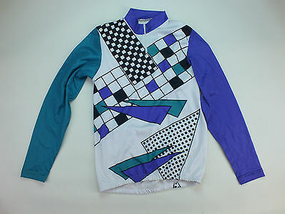 Vintage Long Sleeve Cycling Jersey (133)