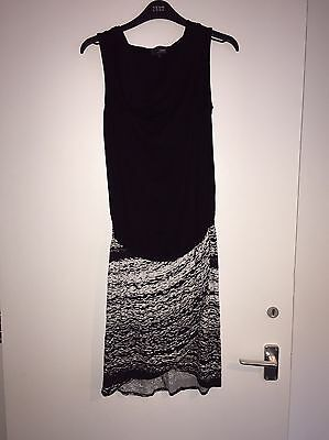Next Maternity Long Top Dress Tunic Size 8 Immaculate