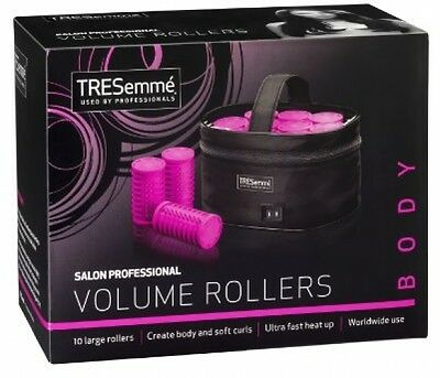 Large Heated Curlers Rollers Hair Salon Curl Electric Travel Hot Heat Style Pink