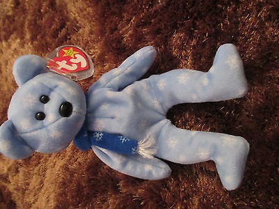 TY Beanie Baby Holiday Bear
