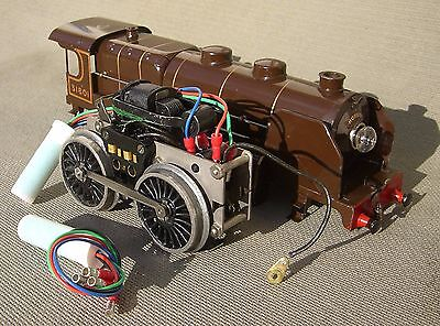 """CONVERT HORNBY """"O"""" AC 20 volt MOTOR to REMOTE CONTROL with DC TRANSFORMER"""
