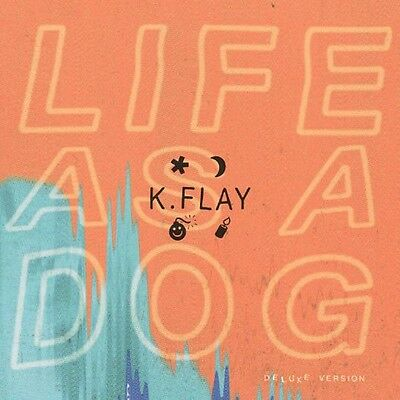 Life As A Dog: Deluxe Edition - K Flay (2015, CD NUEVO)