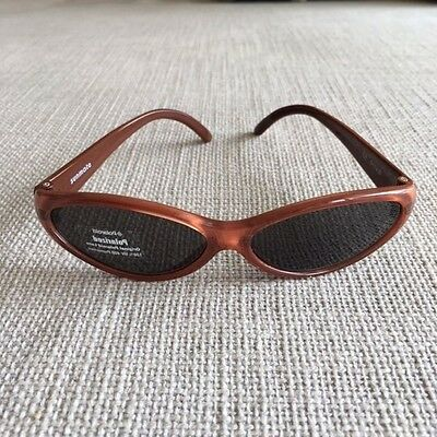 Kids POLAROID Sunglasses- Original Polaroid Lens -orange/brown for 1 year old up