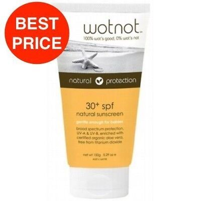 WOTNOT SUNSCREEN FAMILY 30+ORGANIC 150g