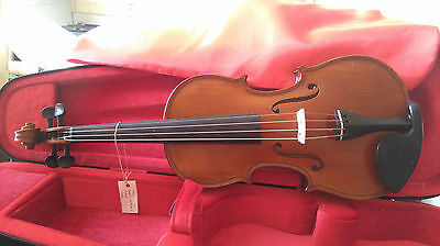 Gliga Genial 1 1/2 size violin outfit with bow upgrade, Dominant strings, NEW