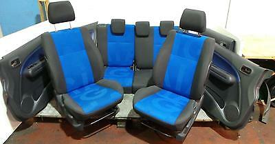 2008 Vauxhall Agila Mk2 B Model Set Of Front And Rear Seats With Door Cards