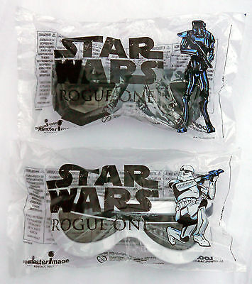 Rogue One : A Star Wars Story 3D Glasses BOTH Stormtrooper & DeathTrooper BNIB