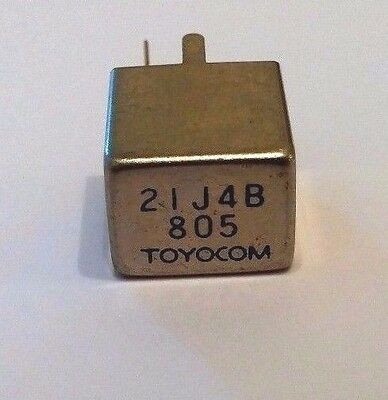 Toyocom 21J4B Filter. New Old Stock. (Quantity 1)