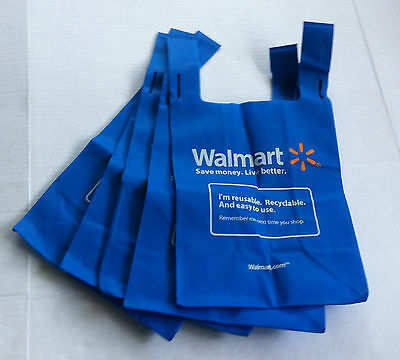 NEW 5 REUSABLE RECYCLABLE SHOPPING GROCERY TOTE ECO BAG BAGS Washable