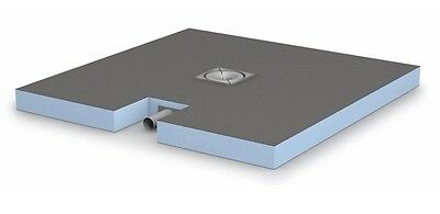 Franke Wedi Plano Receiver With Built In Drain 1200 x 900 x 65 Free Postage