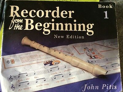 Recorder from the Beginning: Pupil's Bk. 1 by John Pitts (Paperback, 1997)