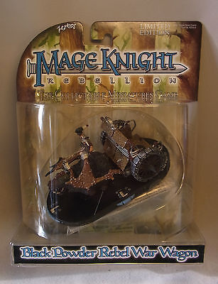 Wizkids Mage Knight OVP BLACK POWDER REBEL WAR WAGON