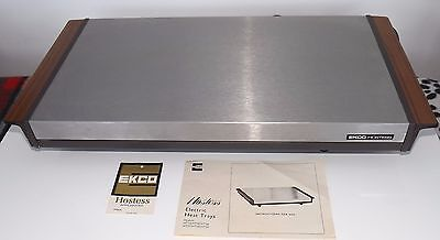 vintage EKCO Hostess electric heat tray excellent used condition