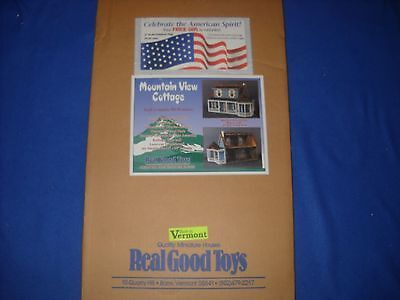 MOUNTAIN VIEW COTTAGE dollhouse kit, by Real Good Toys, 1:12 scale, #J-650 - NIB