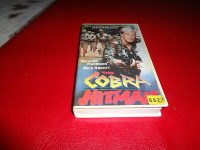 Hitman the Cobra - Vhs - Godfrey Ho, Richard Harrison