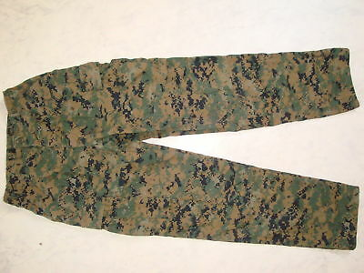Orig. USMC Marpat Hose Digital Woodland Pants Trouser US Marines MCCUU Uniform
