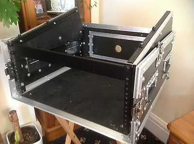 Flight Case 10ux4u  For Mixer And Amp And Cd Effects