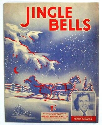Jingle Bells (sheet music as recorded by Frank Sinatra) 1947