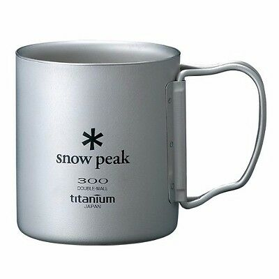 snow peak MG-052FHR TI-DOUBLE 300 MUG FH Titanium NEW from Japan