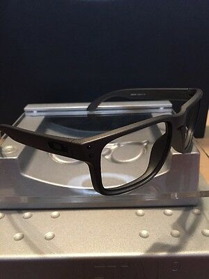~~Oakley Holbrook Steel Gray Frame Black Icons Fast Free S/H~~
