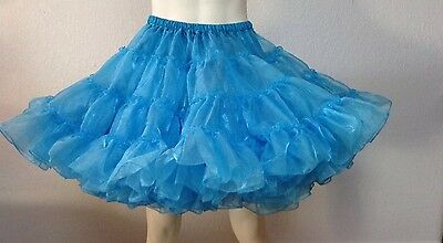 Crystal Chinese Blue  Petticoat By Eva's 60 Yard 19""