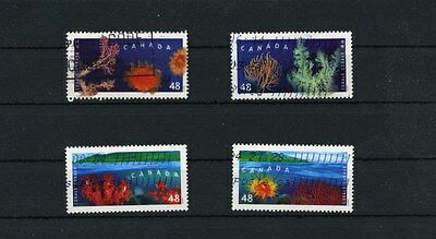 Canada Stamps 2002 Canada Hong Kong joint issue set Used/NH