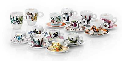 Set 2 Tazzine Illy Art Collection