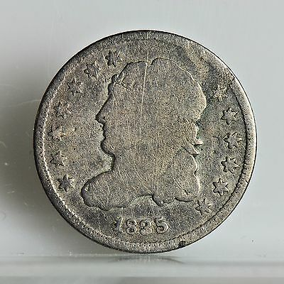 1835 Half Dime - Small date, Large 5C - Good (#4582)