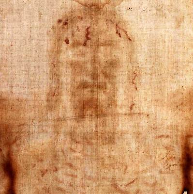 Shroud of Turin Full Size Replica   Image of Crucified Man Possibly Jesus Christ