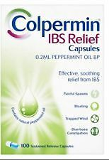 Colpermin IBS Relief 100 Peppermint Capsules