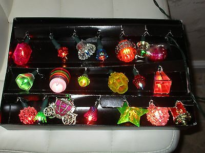 Vintage Pifco 20 tutti frutti Individual lights