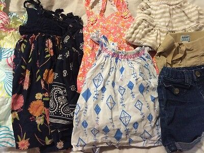 Baby Girl Lot size 12-18 Months Baby Gap Gymboree Dresses Rompers