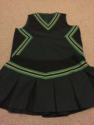 SIZE 14 ADULT SIZED CHEERLEADING CHEER UNIFORM COSTUME tv sissy Halloween