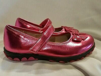 ragg size 11 girls pink shoes