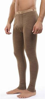 Warm Thermal Camel Wool Long Johns Pants   Winter Cold Weather BaseLayer Bottom