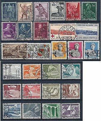 Switzerland 1941-1950 Selection of Used CV £37